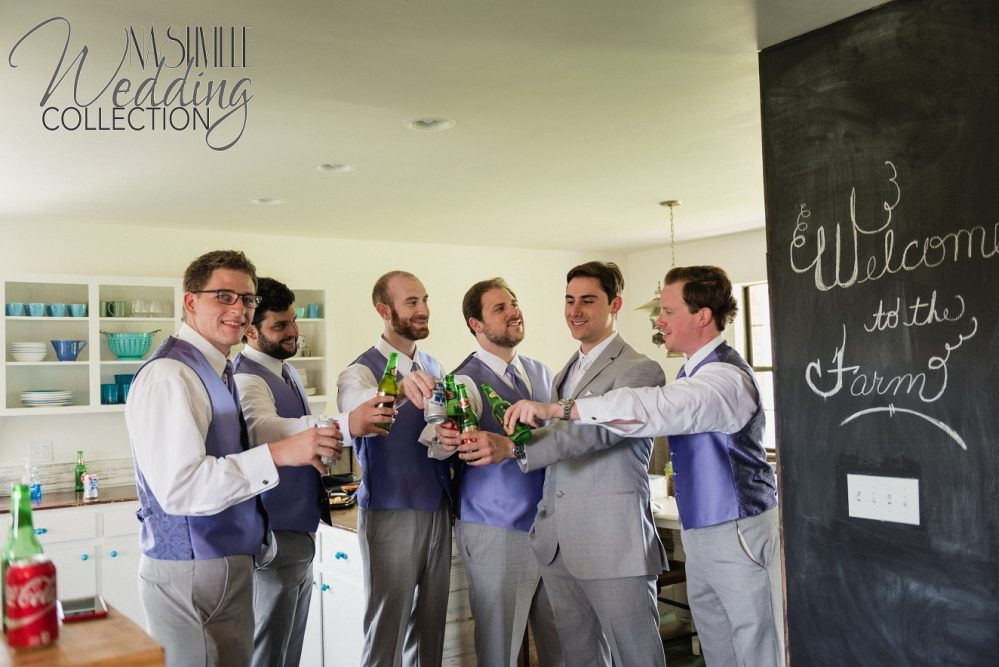 groomsmen at guest house with 2 day option